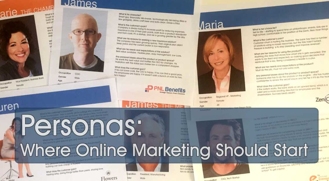 Personas: Where Online Marketing Should Start