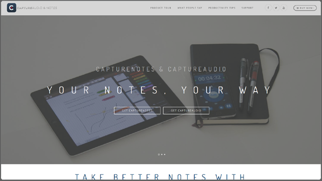 Twisted Puppy: Showcase - CaptureNotes, CaptureAudio (CaptureApps)