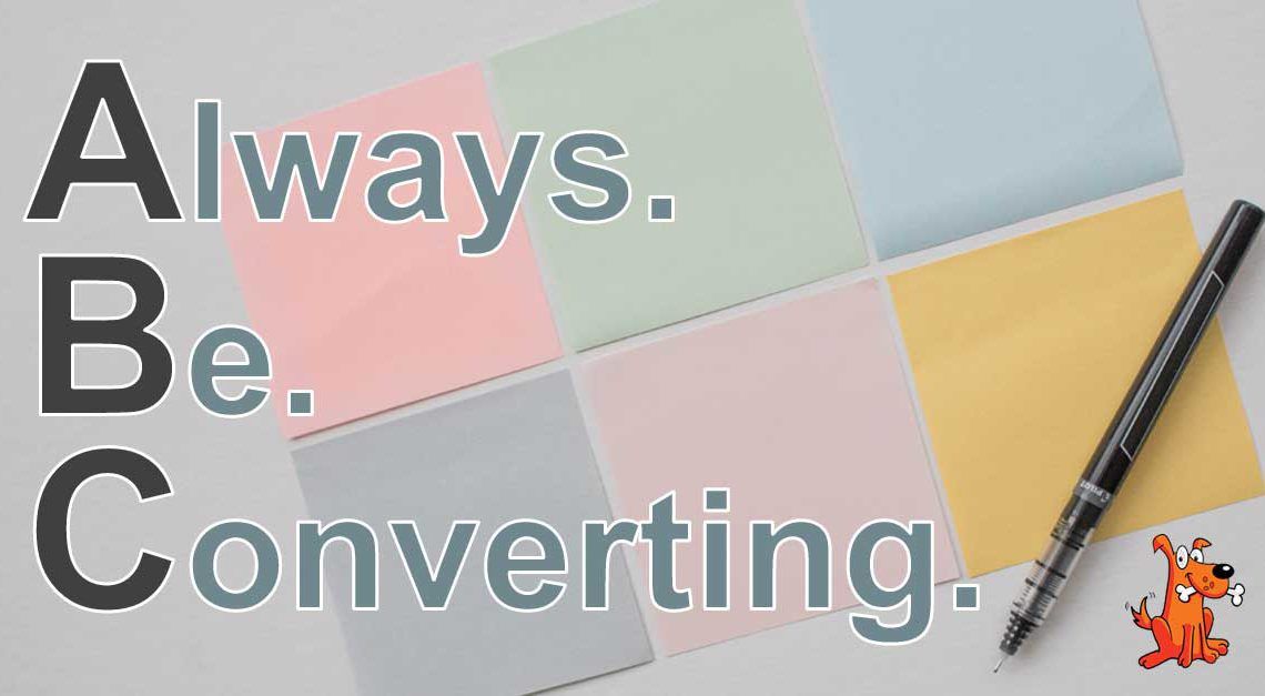 Twisted Puppy: Always. Be. Converting. The State of Conversion in 2016.