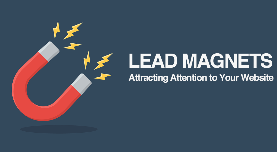 Twisted Puppy: LEAD MAGNETS - Attracting Attention to Your Website