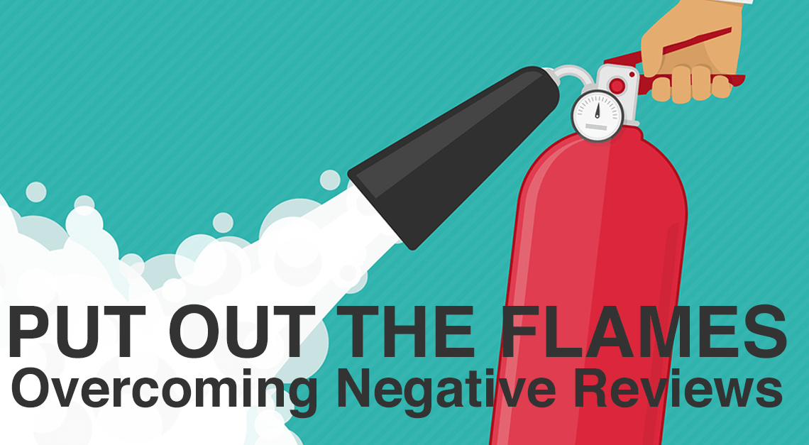 Twisted Puppy Blog: Put Out the Flames - Overcoming Negative Reviews
