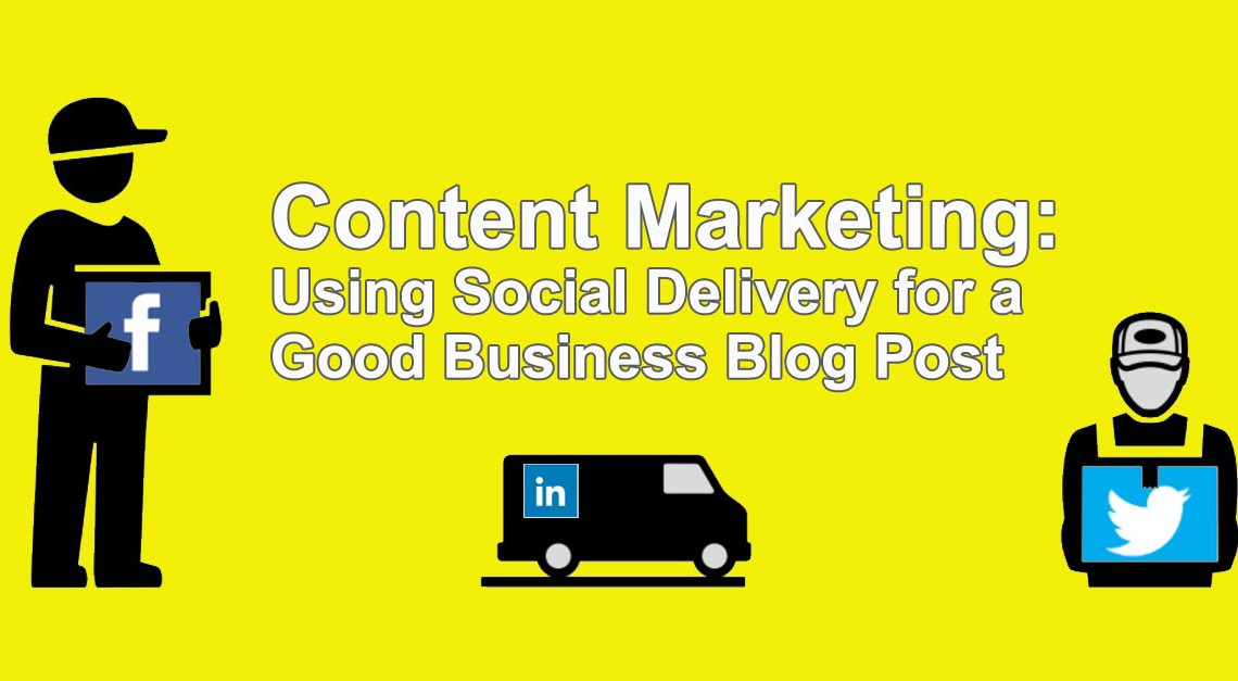 Using Social Delivery For A Business Blog Post Twisted Puppy